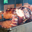 Stock Photo: Grilled pork
