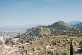 Panoramic view of Xativa, Valencia, Spain — Stock Photo