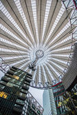 Roof at Sony Center, Potsdamer Platz, Berlin, Germany — Stock Photo