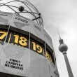 World Clock at Alexanderplatz, Berlin, Germany — Stock Photo #37640919