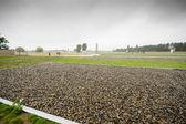 Sachsenhausen, Nazi concentration camp in Oranienburg, Germany — Stock Photo