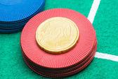Euro 20 céntimos — Foto de Stock