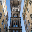 Santa Justa Elevator in Lisbon, Portugal. — Stock Photo #38192701