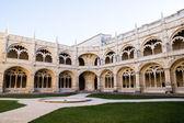 Jeronimos Monastery in Lisbon, Portugal — Stock Photo