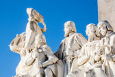 Padrao dos Descobrimentos (Monument of the Discoveries) in Lisbon, Portugal — Stock Photo