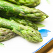 Asparagus close up — Foto de stock #40076069