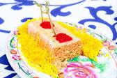 Salmon cake — Stock Photo