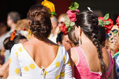 TORREMOLINOS, SPAIN - SEPTEMBER 23: Pilgrims participate in the traditional Romeria — Stock Photo