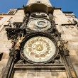 Old astronomical clock in center square of Prague, Czech Republic — Stock Photo #40606033