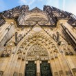 Cathedral in Prague, Czech Republic — Stock Photo #40608225