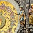 Old astronomical clock in center square of Prague, Czech Republic — Stock Photo #40609671