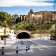 Stock Photo: Tunnel in Gibralfaro, Malaga, Spain