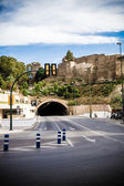 Tunnel in Gibralfaro, Malaga, Spain — Foto Stock