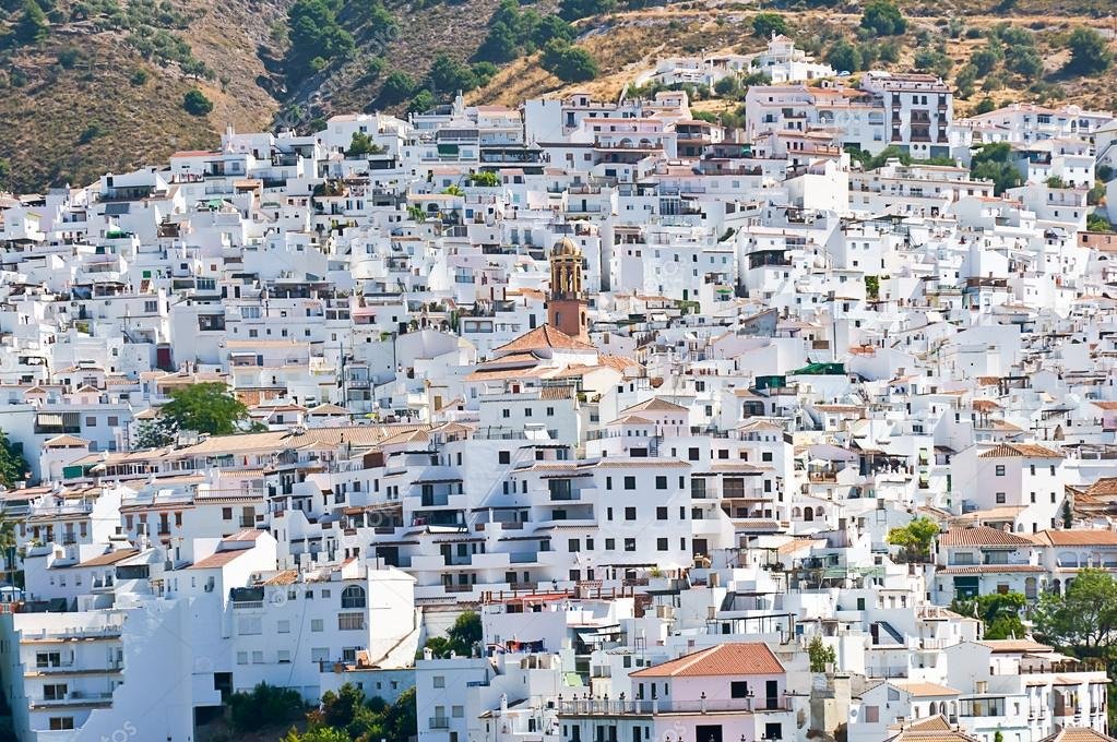 Competa Spain  city pictures gallery : Competa, Malaga, Spain — Stock Photo © pabkov #40843871