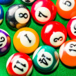 Billiard balls — Stock Photo #41750933