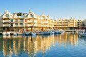 Puerto Marina in Benalmadena, Malaga, Spain — Stock Photo