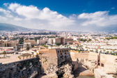 MELILLA, SPAIN - MARCH 26: View of Melilla city on March 26, 2013 in Melilla, Spain.The city has a population of 81,188 inhabitants and it is the bordering region of Rif (Morocco). — Stock Photo