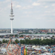 "The ""Hamburger Dom"" in Hamburg, Germany — Stock Photo"