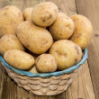 Basket with fresh Potatoes — Stock Photo #12101943