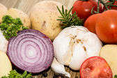 Different Vegetables (Closeup) — Stock Photo