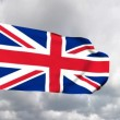 Flag of the United Kingdom of Great Britain - Stock Photo