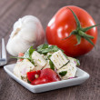 Feta Cheese with tomato — Stock Photo