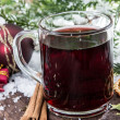 Royalty-Free Stock Photo: Fresh made mulled wine