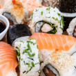 Royalty-Free Stock Photo: Mixed Sushi (macro shot)