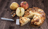 Fresh baked Apple Cake — Stock Photo