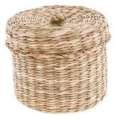 Small Basket on white — Stock Photo
