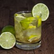 Fresh made Caipirinha — Stock Photo #14401005
