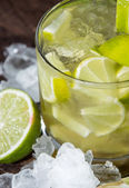 Glass of Caipirinha with Crushed Ice — Stock Photo
