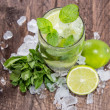 Glass with Mojito - Foto Stock