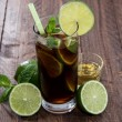 Royalty-Free Stock Photo: Fresh made Cocktail (Cuba Libre)