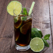 Cola and Rum — Stock Photo