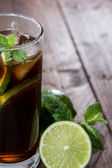 可乐和朗姆酒 — 图库照片