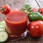 Fresh made Tomato Juice — Stock Photo #18113383