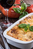 Fresh made Lasagne — Stock Photo