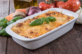 Fresh made Lasagne — Stock Photo
