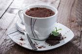 горячий шоколад — Стоковое фото