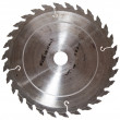 Circular Saw Blade isolated on white - Stock fotografie