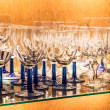 Glassware in a Bar — Stock Photo