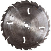 Circular Saw Blade isolated on white — Stock Photo