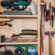Tool Cabinet (detailed shot) - Stockfoto