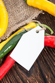 Mixed Chillis — Stock Photo
