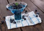 Homemade Blueberry Jello — Stock Photo