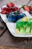 Jello (different sorts) — Stock Photo