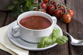Fresh made Tomato Soup — Stock Photo