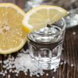 TequilSilver with lemon — Stock Photo #23392064