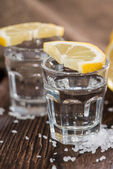 Tequila Silver macro shot — Stock Photo